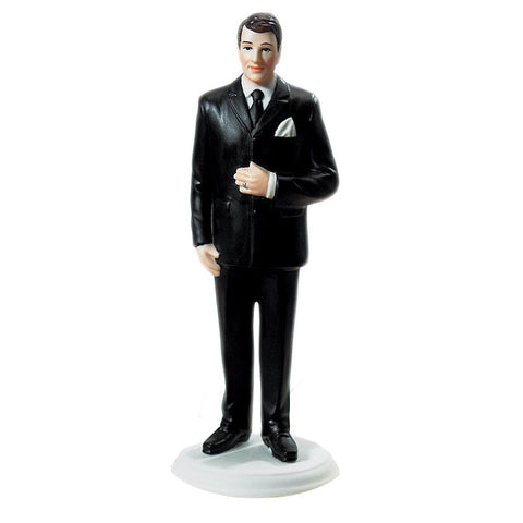 The Wedding Cake Top Big & Tall Groom Figurine, because we come in all sizes and so do our cake toppers.