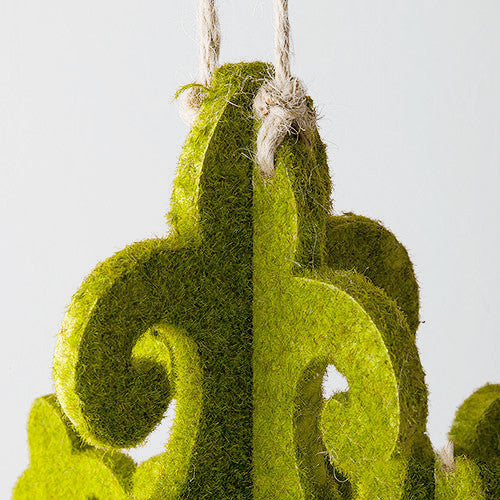 Outdoor Wedding Party Decoration Moss Chandelier