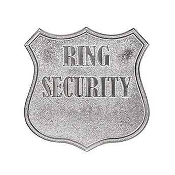 personalized ring bearer wedding security badge candy. Black Bedroom Furniture Sets. Home Design Ideas