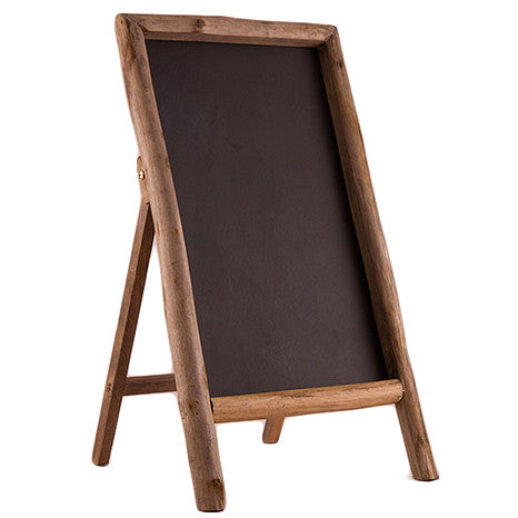 Rustic Chalkboard Sign Self Standing