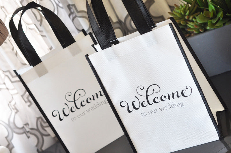 Wedding Welcome Bags for out of town guests.