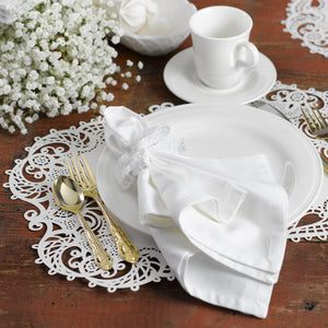 Vintage Design Laser Cut Wedding Placemat