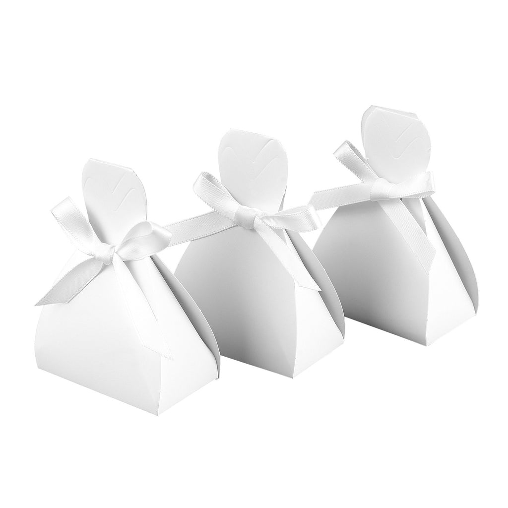 Bridal Gown Dress Favor Boxes (Pack of 25)