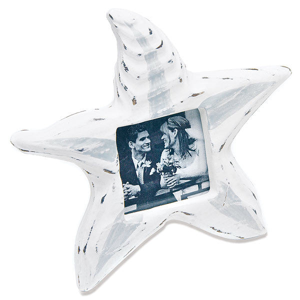 Wooden Starfish Photo Frame