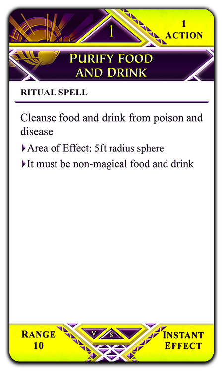 Purify Food and Drink
