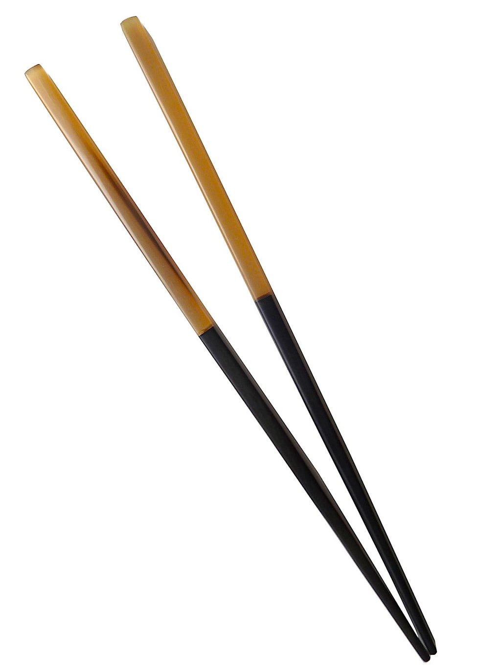 Chopsticks Ebony And Mixed Horn 10 Cm