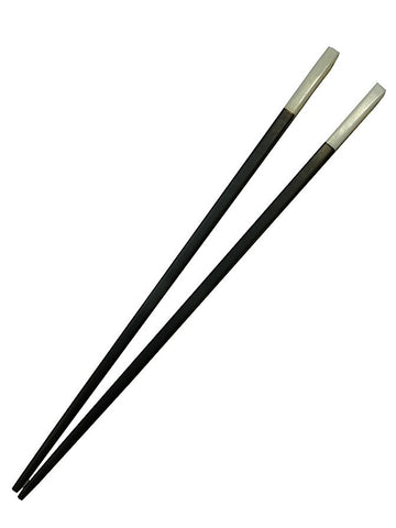 Chopsticks Round Ebony And Bone 4Cm