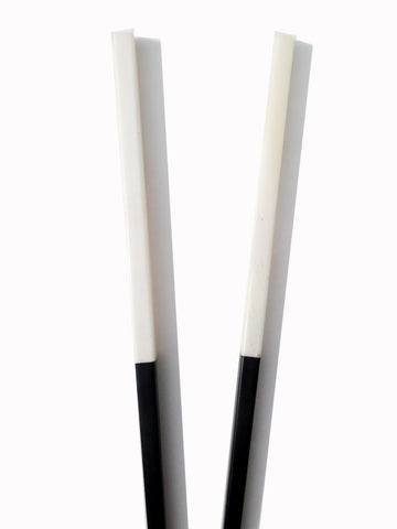 Chopsticks Ebony And Bone 10Cm