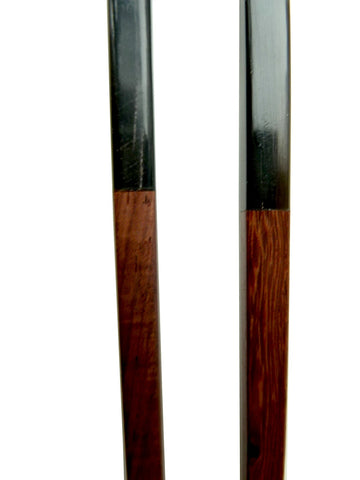 Chopsticks Rosewood And Black Horn 10Cm