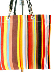 French Cotton Stripe Bags Multipstripe 1