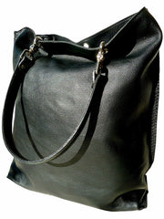 Gajumbo Tote Bag Napa Leather Smoke
