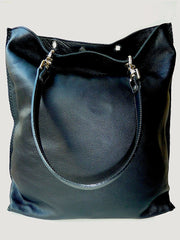Gajumbo Tote Bag Napa Leather Black
