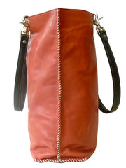 Gajumbo Tote Bag Napa Leather Fuchsia