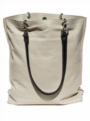 Gajumbo Tote Bag Napa Leather Cement
