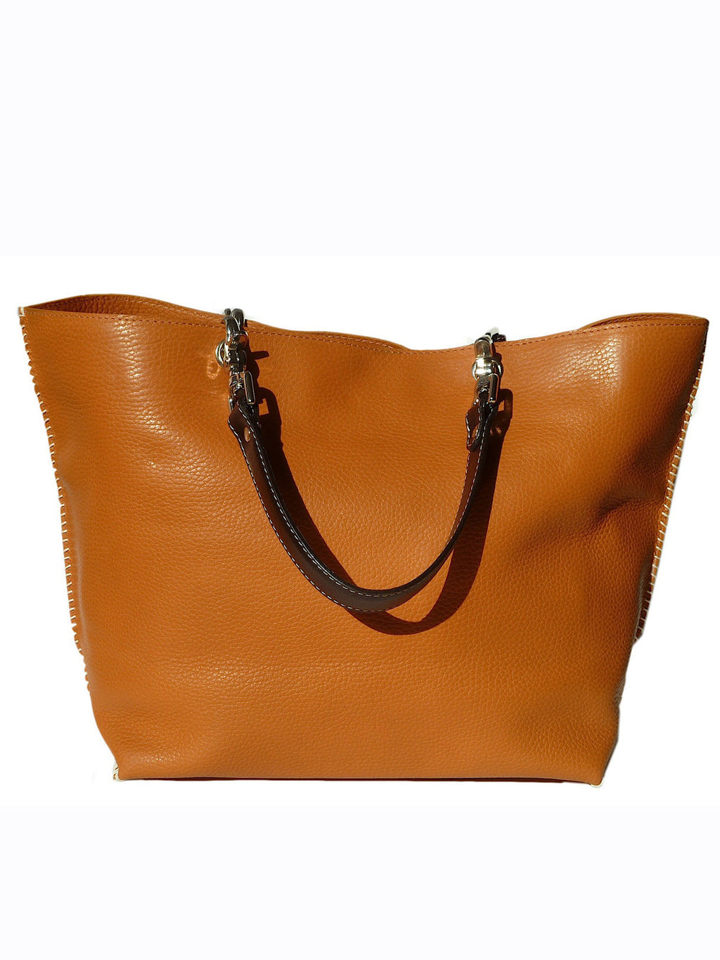 Gamidi 2 Tote In Pebble Grain Leather