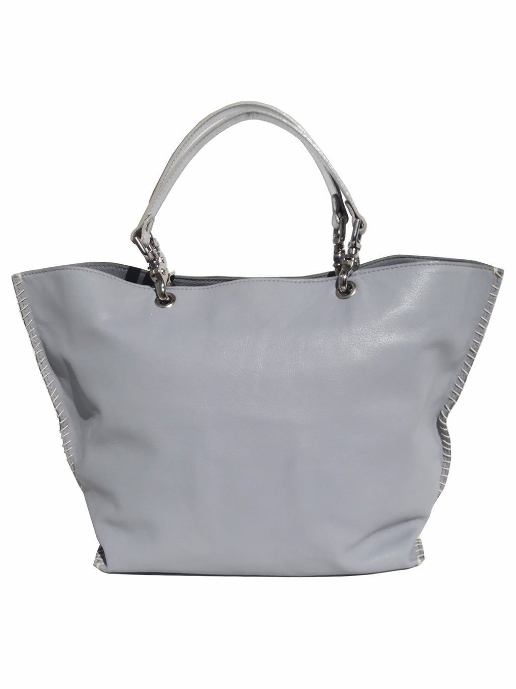 Gamidi 2 Tote Napa Leather Smoke