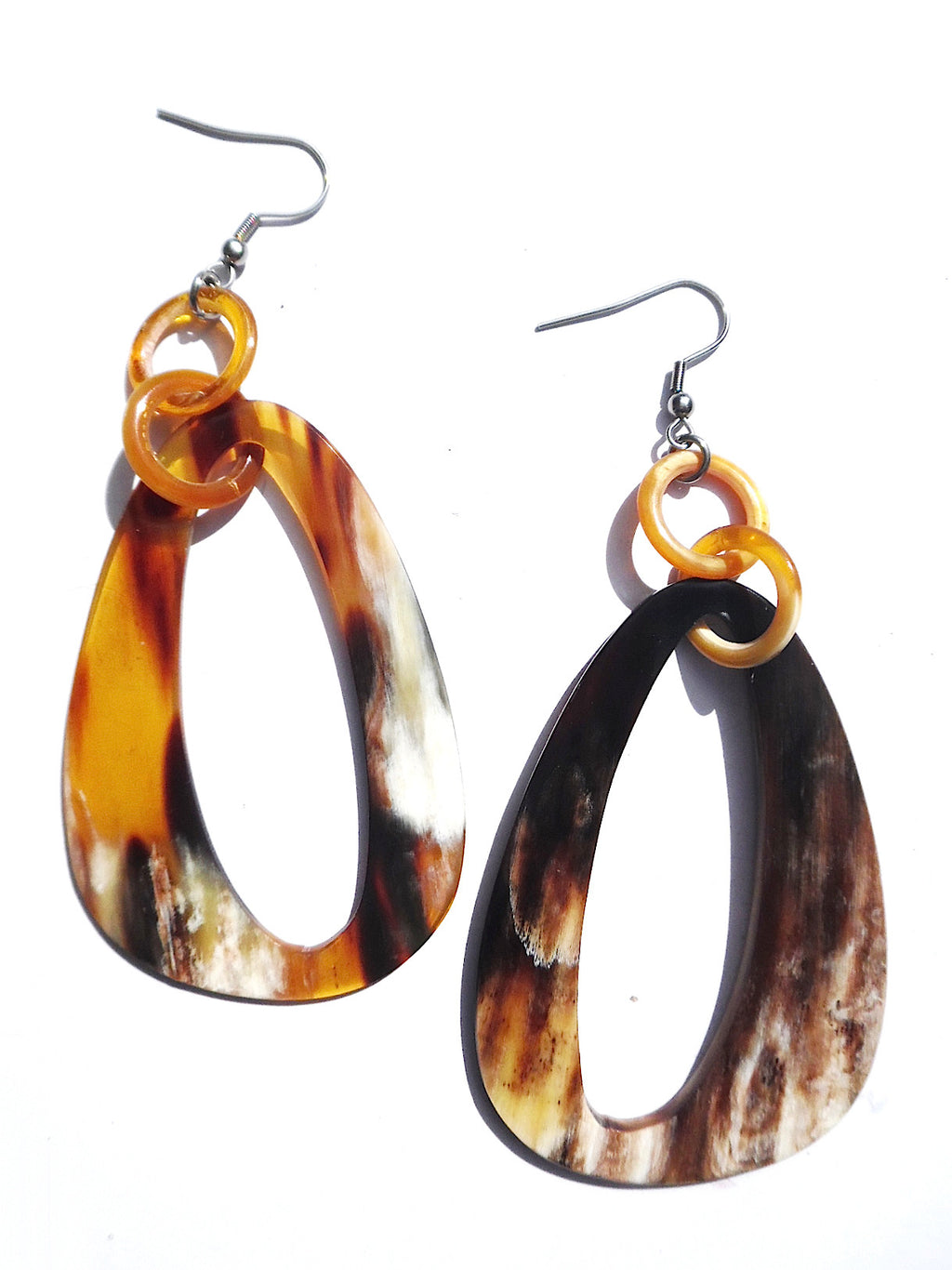 Horn Earrings Ellipse