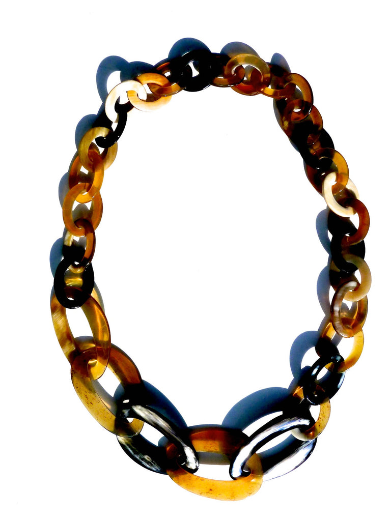Horn Necklace Occhiali