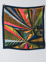 Art teca Silk Scarf by Omar Barquet