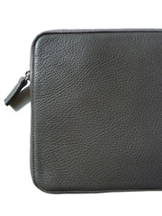 iPAD CASE PEBBLE GRAIN LEATHER ELEPHANT