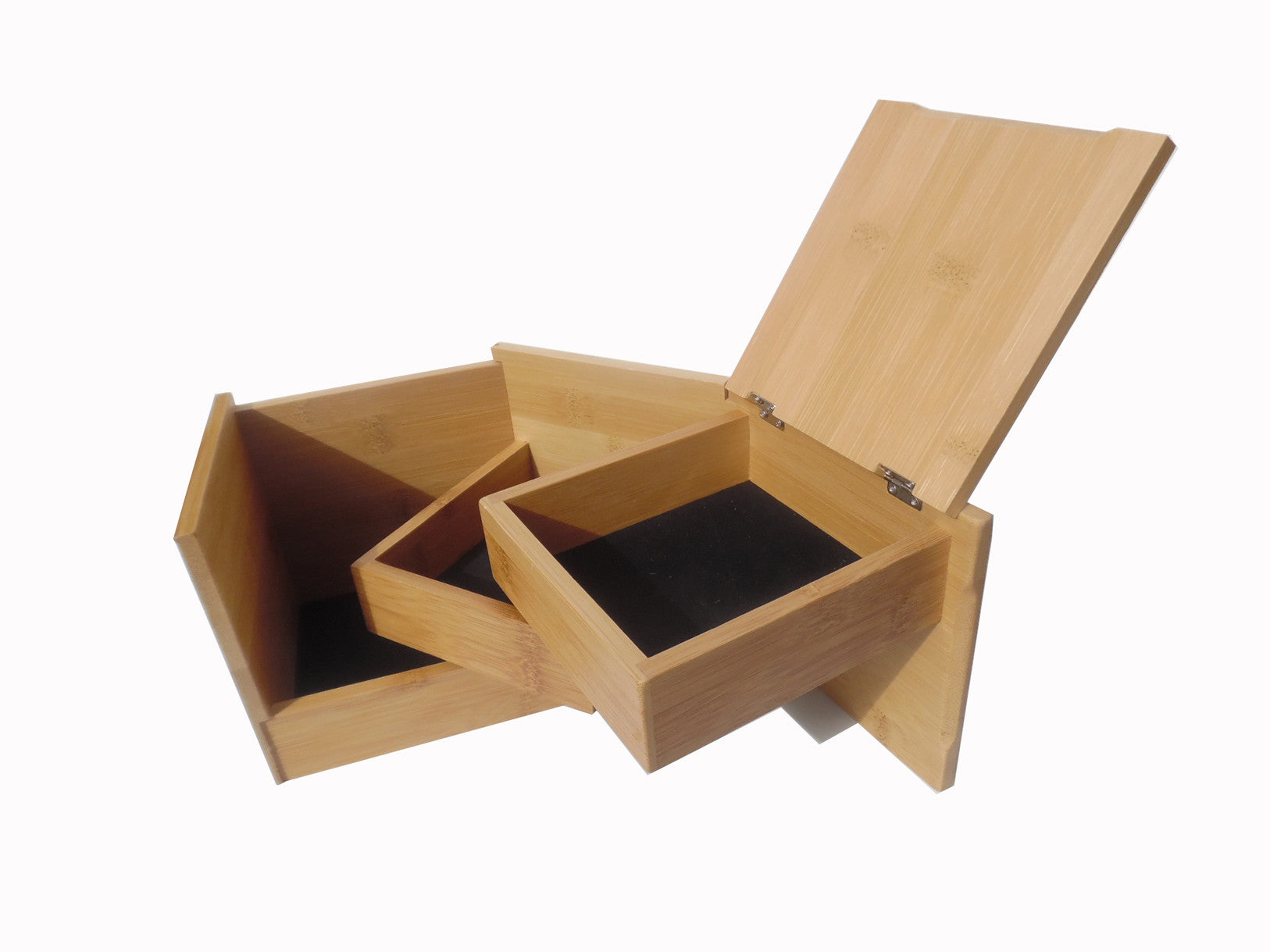 JEWELRY BOX BAMBOO FUN CUBE