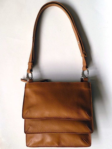 Mami Crossbody Bag Pebble Grain Leather