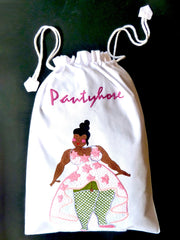 Hand Embroidered Travel Bags Pantyhose