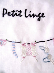 Hand Embroidered Travel Bags Petit Linge