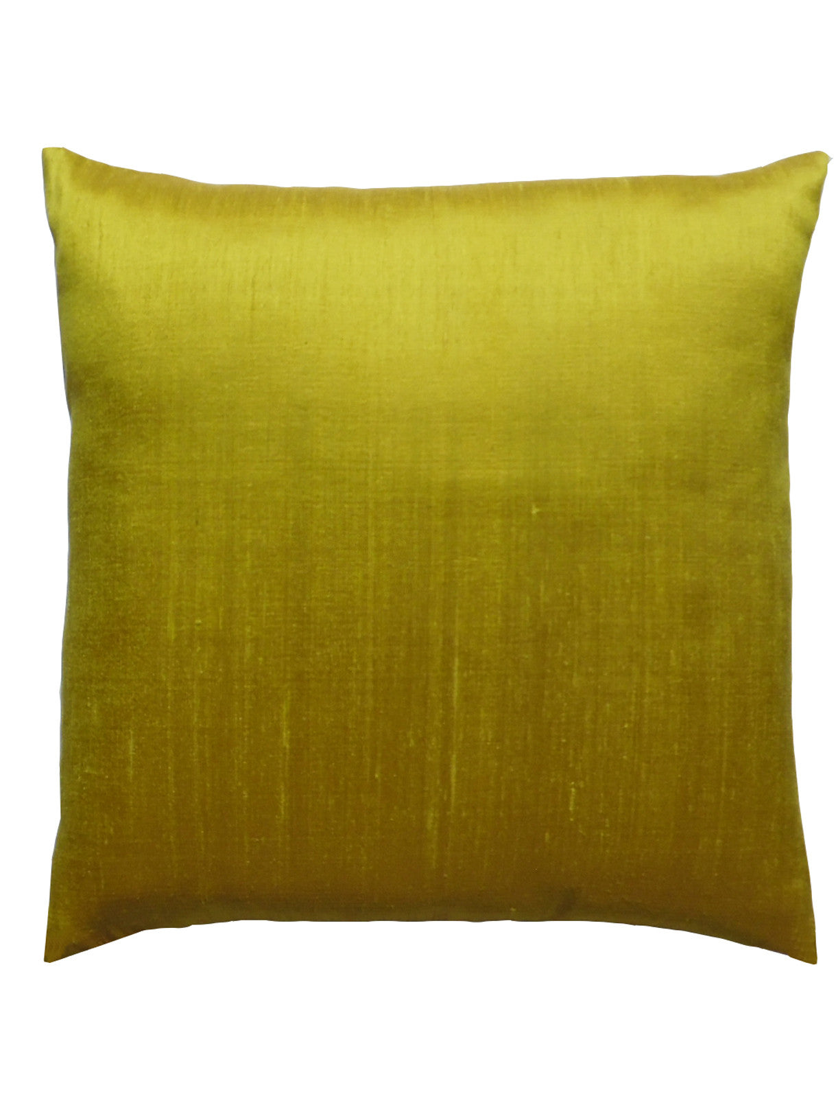 Thai Silk Solid Pillow Citrine