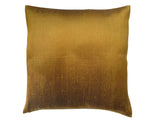 Thai Silk Solid Pillow Caramel