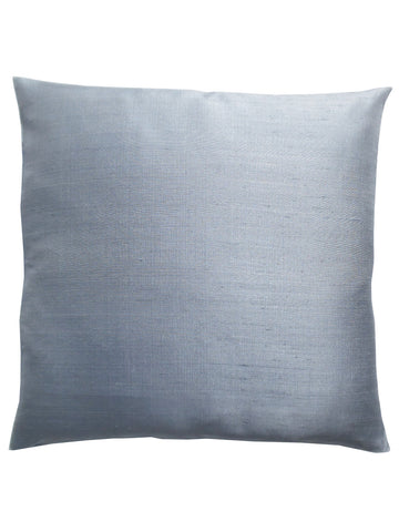 Thai Silk Solid Pillow Dove Grey