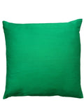 Thai Silk Solid Pillow Bottle Green