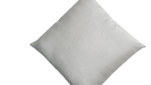 Thai Silk Solid Pillow Ivory