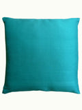 Thai Silk Solid Pillow Robins Egg Blue