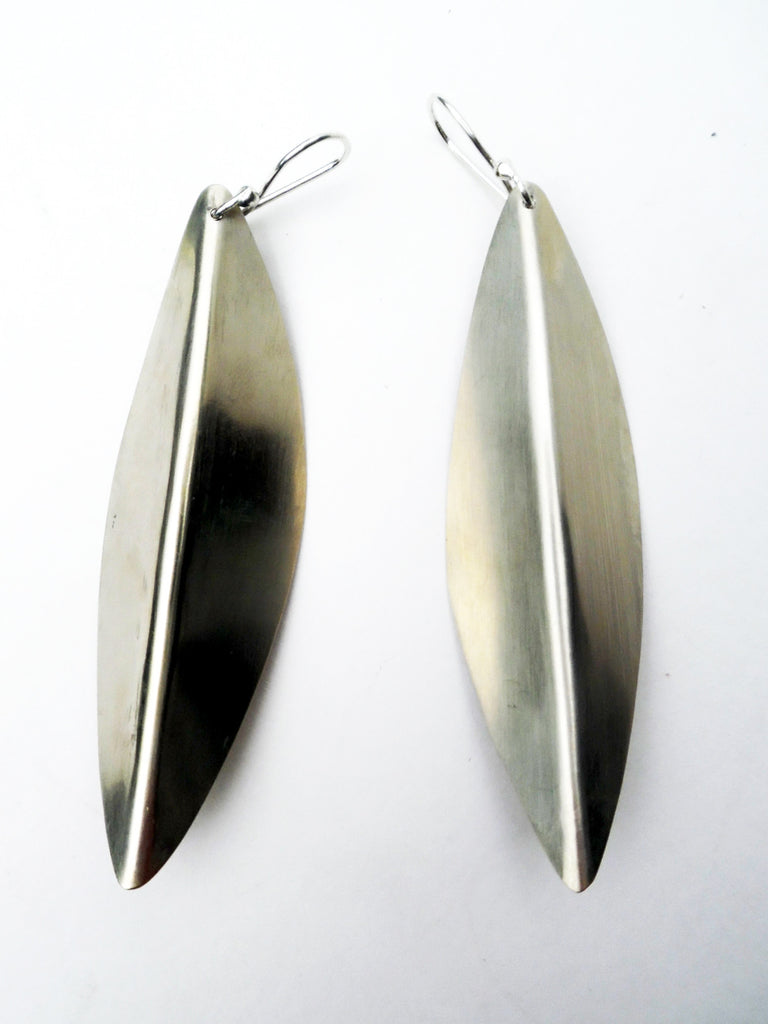 Earrings Arrow Alpaca Silver