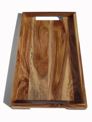 MODERNIST TRAY ACACIA WOOD