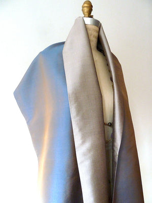 Double Sided Evening Shawl Pewter Brick