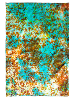 African Batik Cotton Large Scarf