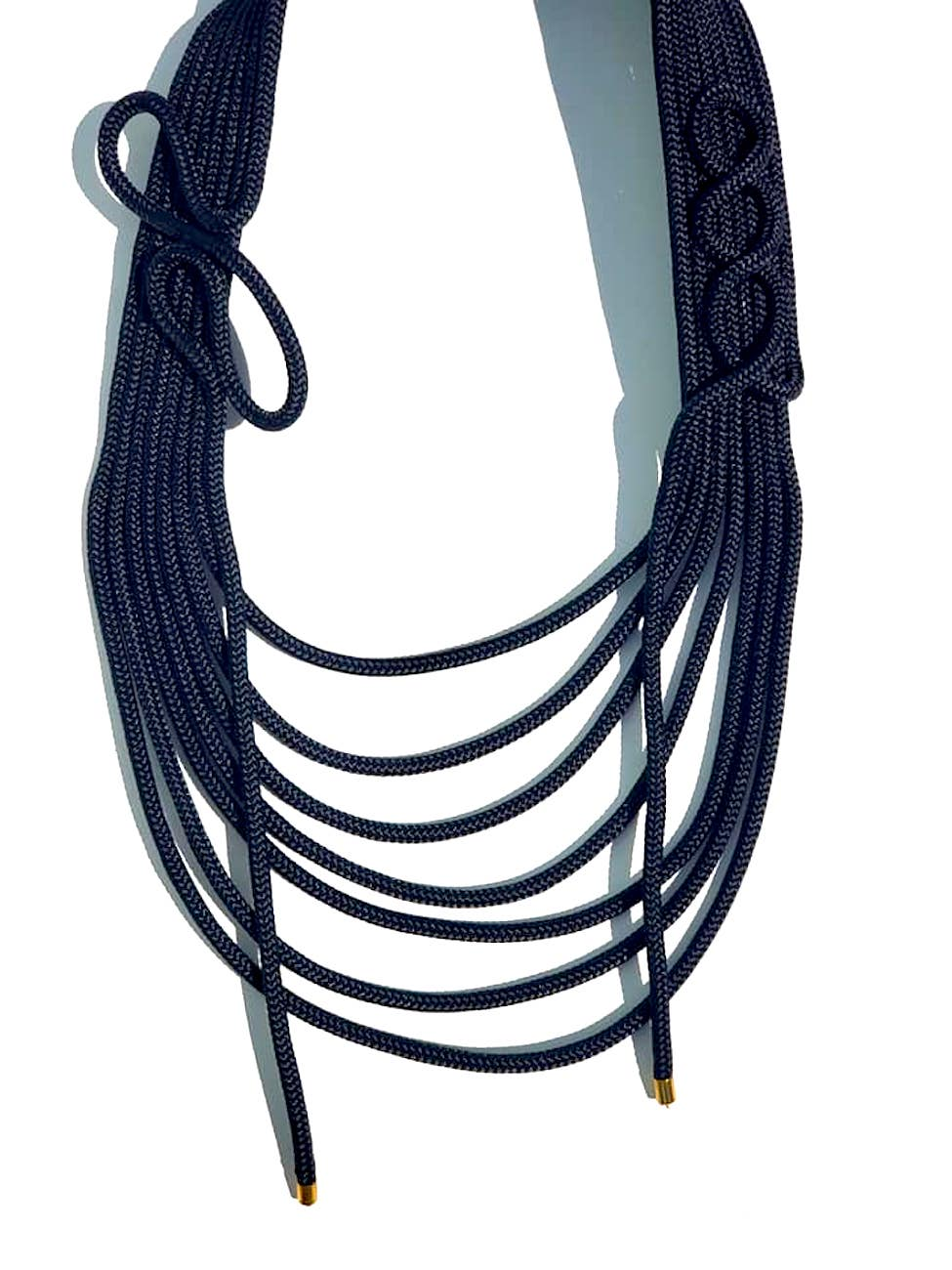 Modernist Necklace Nautical Rope