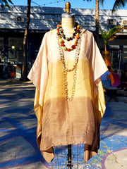 Silk Caftan Almost Famous Collection - Brown Eyed Girl