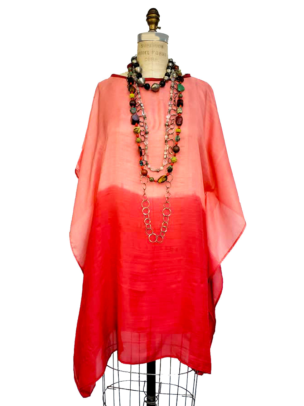 Silk Caftan Almost Famous Collection - Rothko