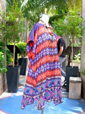 Silk Caftan Almost Famous Collection - Pocahantas