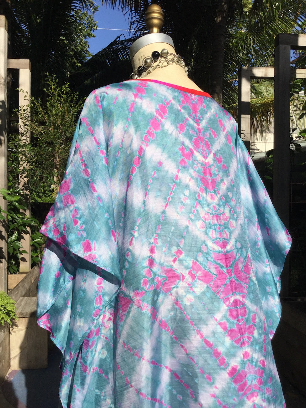 Silk Caftan Almost Famous Collection - Woodstock