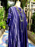 Silk Caftan Almost Famous Collection - Devil in a Blue Dress