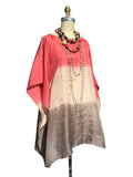 Silk Caftan Almost Famous Collection - Desert Rose