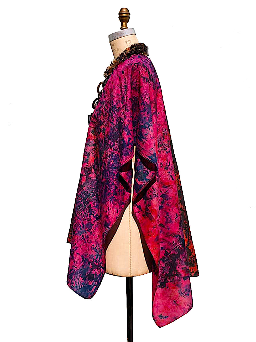 Silk Cape Almost Famous Collection - Magenta