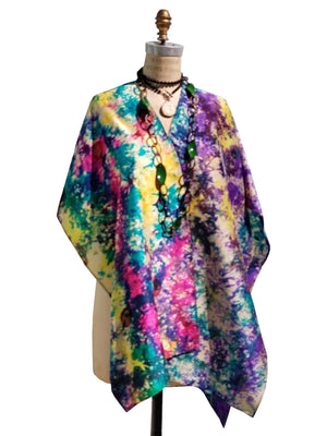 Silk Cape Almost Famous Collection - Jackson Pollock