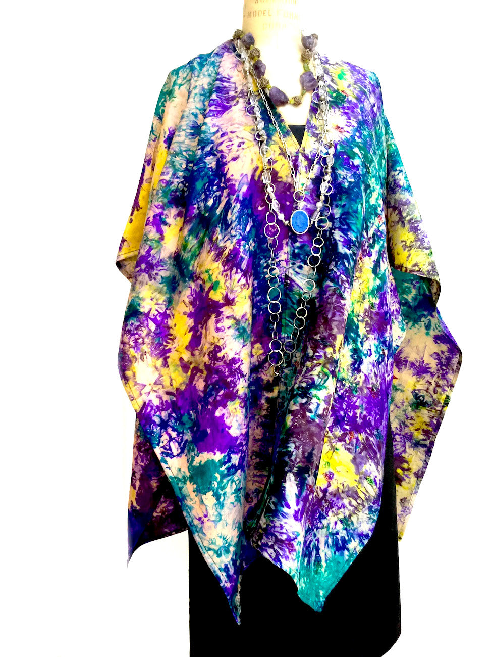 Silk Cape Almost Famous Collection - Monet
