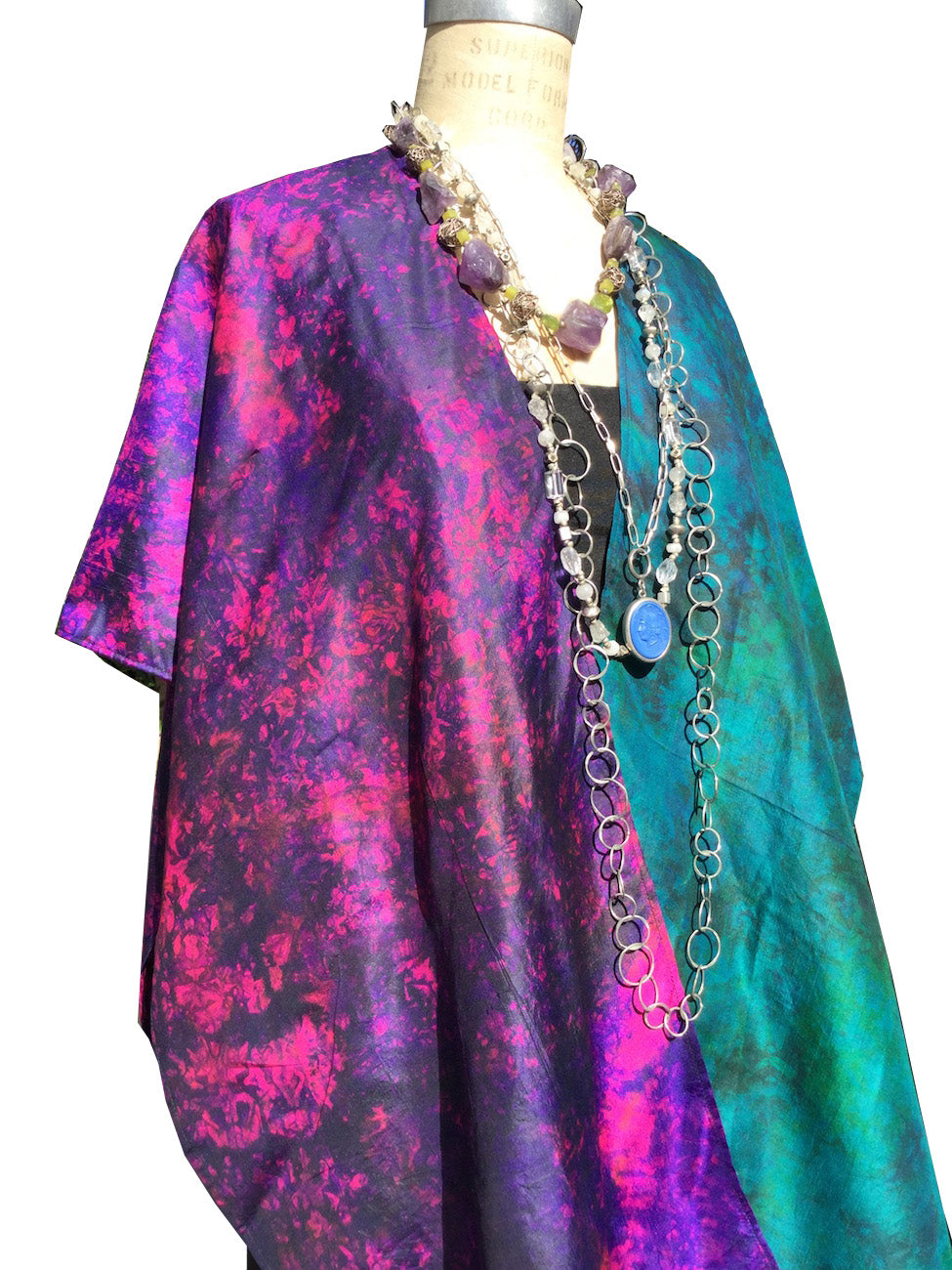 Silk Cape Almost Famous Collection - Studio 54