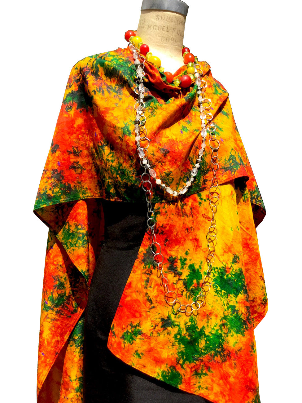 Silk Cape Almost Famous Collection Mama Africa